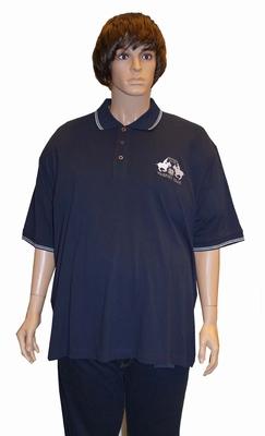 """Polo met korte mouwen  """" Maxfort """"  Team  Donker blauw"""
