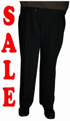 "Heren pantalon Extra lange lengte "" Klotz ""   Zwart"