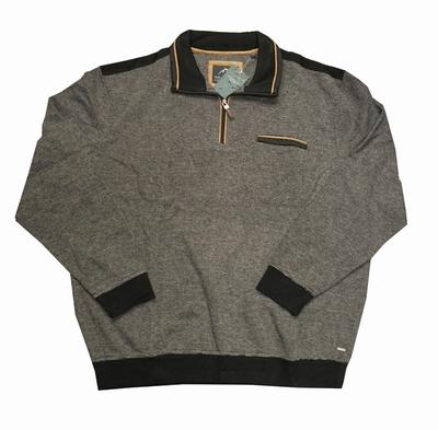 """Sweater met lange mouwen """" Meantime """"  bruin / zwart"""