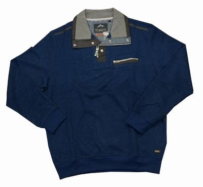 """Sweater met lange mouwen """" Meantime """" blauw"""