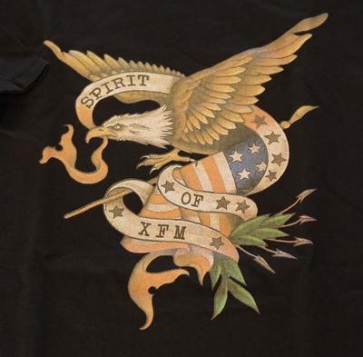 """Shirt met korte mouwen  """" Adelaar Spirit of SFM """" zwart"""
