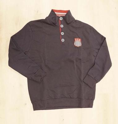 """Sweater met lange mouwen """" E.A. 30 """"  donker blauw"""