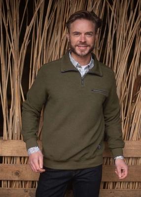 "Sweater met lange mouwen "" Meantime "" Groen"
