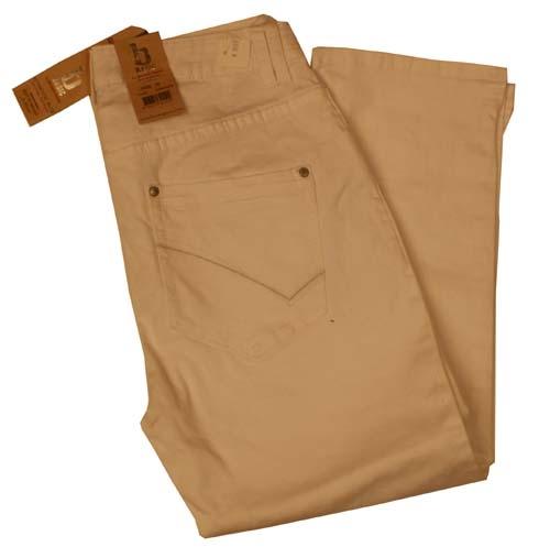 """7/8 dames stretch jeans  """" Brams Paris """"  Beige"""