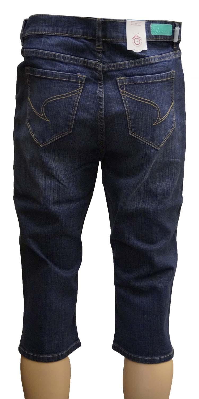 "7/8 dames stretch jeans  "" Paddocks ""  Donker blauw used"