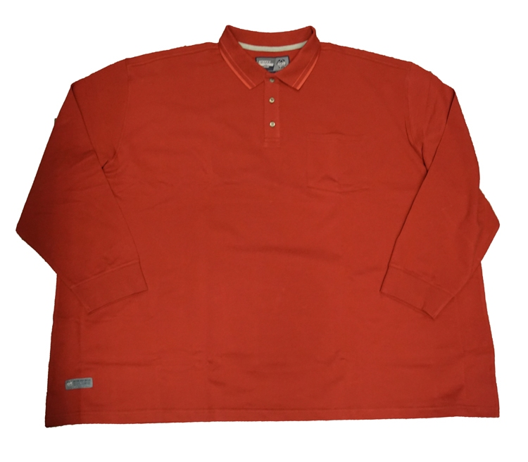 "Ahorn shirt met lange mouwen "" Sky wolf ""  Rood"