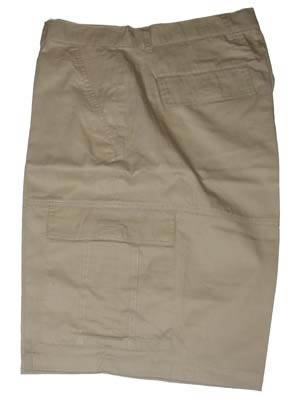 """Bermuda met zakken aan de zijkant """" Donker beige"""