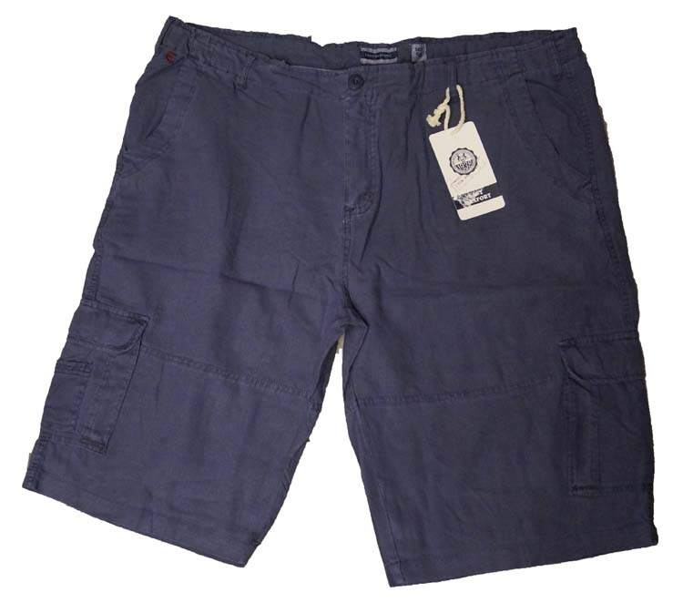 """Bermuda met zakken aan zijkant  """" Blauw """""""