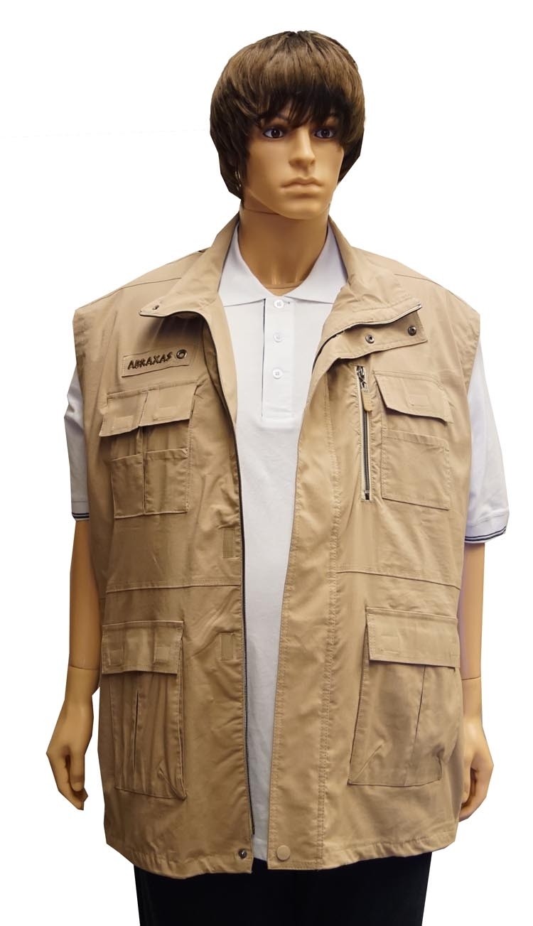 "Bodywarmer  "" Outdoor by Abraxas ""  Beige"