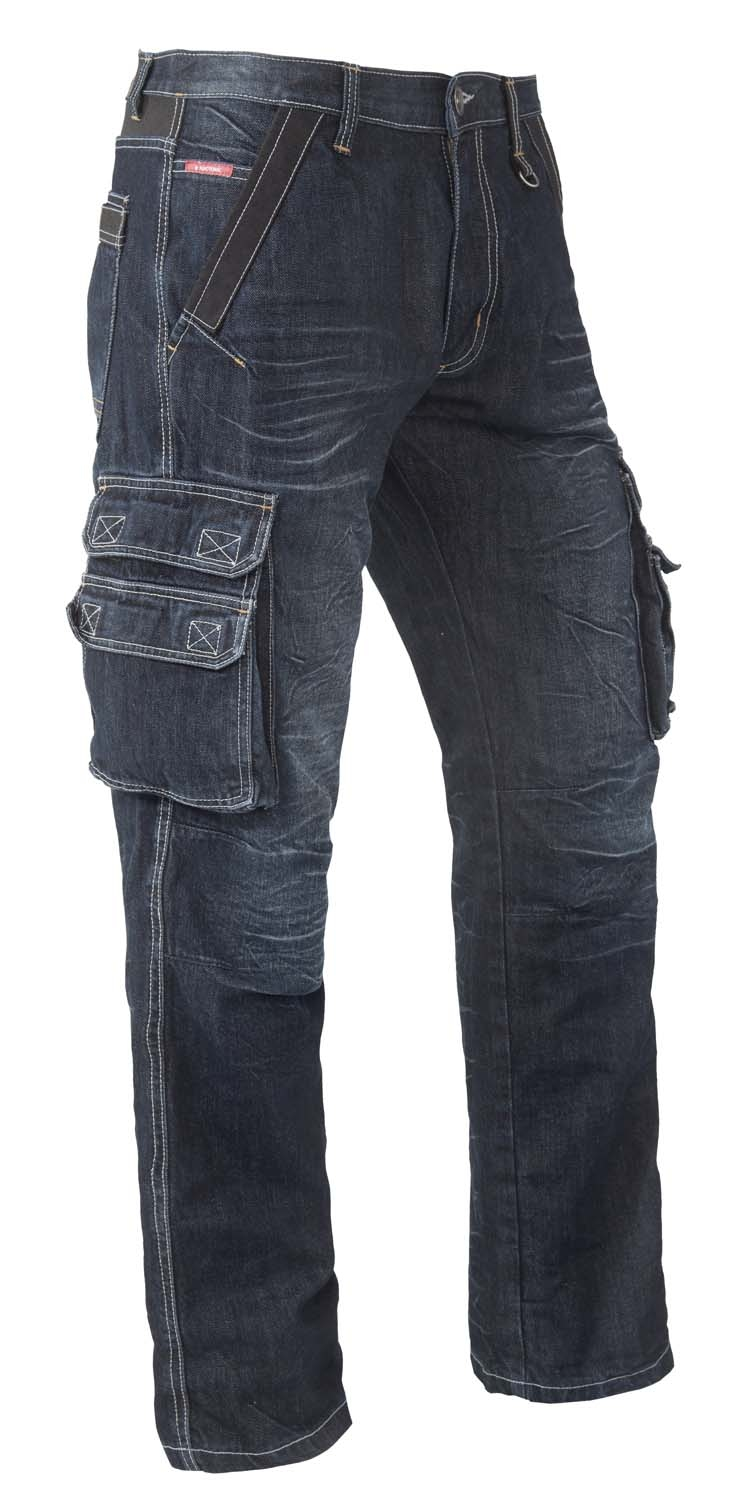 "Brams Paris jeans  "" Willem ""  Zijkant zakken  Dark stone"