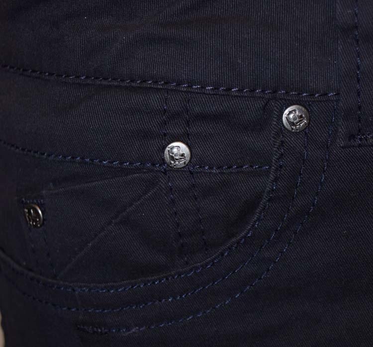 "Brams Paris stretch jeans  "" Capri ""   Navy"