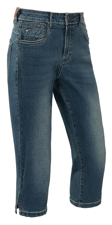 "Capri dames stretch jeans "" Brams Paris "" Donker blauw used"