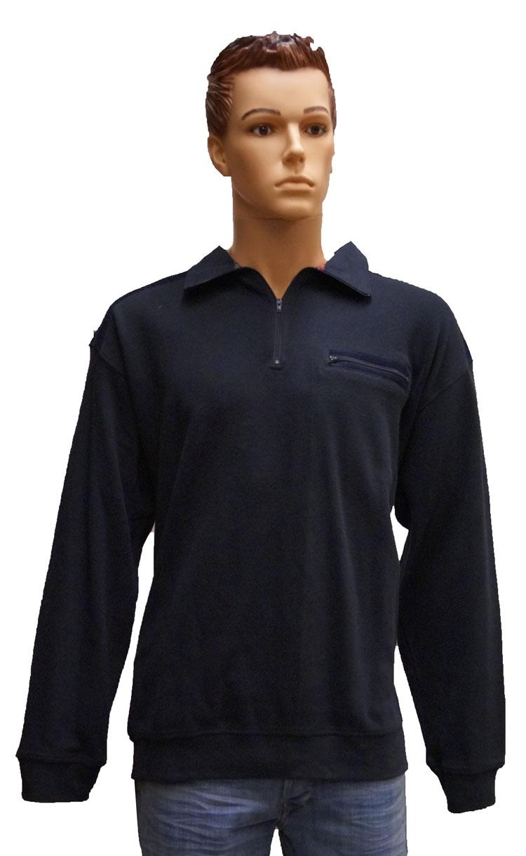 """Fleece trui  """" Donker blauw """""""