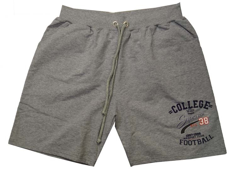 "Joggingbroek bermuda "" College superior 38  Football "" Grijs"