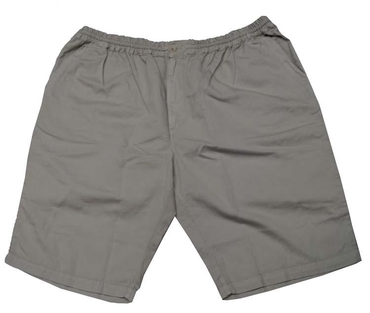 """Korte broek met elastieke band  """" Maxfort """"  Beige"""
