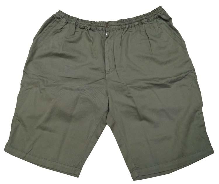 """Korte broek met elastieke band  """" Maxfort """"  Groen"""