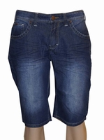 "Denim korte broek  "" Brams Paris  ""  Dark used"