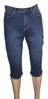 "Paddock's stretch jeans  "" 7 / 8 ""  Donker blauw used"