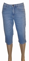 3/4 dames stretch jeans