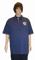 "Polo met korte mouwen  "" New outdoor zeland  ""  Navy"