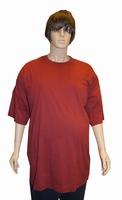 "T-shirt met korte mouwen "" Bordeaux rood """
