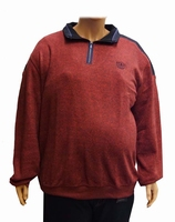 "Sweater met lange mouwen "" Meantime ""  Rood"