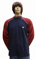 "Sweater met lange mouwen "" Golfers "" Blauw / rood"