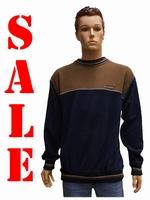"Sweater met lange mouwen "" Bruin / donker blauw """