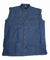 Denim bodywarmer
