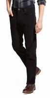 """Wrangler stretch jeans  """" Texas """"  Corduroy  Zwart"""