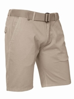 "Korte heren stretch broek  "" Brams Paris  ""  Beige"