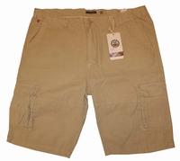 """Korte broek met zakken aan zijkant  """" Maxfort """"  Beige"""