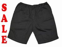 """Korte broek met elastieke band  """" Maxfort  """"   Zwart"""