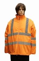 "Grote maten winddicht veiligheidsjas  "" Neon oranje """