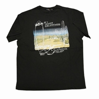 "T-shirt met korte mouwen  "" Bea traveler ride every "" Zwart"