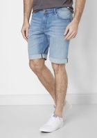 Denim heren bermuda