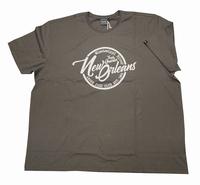 """T-shirt met korte mouwen  """" New Orleans  """" Steel grijs"""