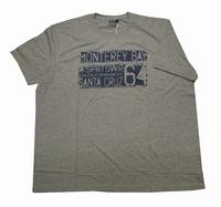 """T-shirt met korte mouwen  """" Santa cruz  """" Grijs"""
