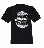 "T-shirt met korte mouwen  "" New york dream team "" Zwart"