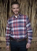 Fleece blouse met lange mouwen
