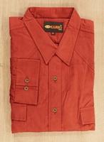 corduroy blouse met lange mouwen