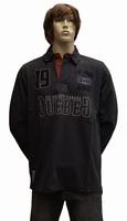"""Sweater met extra lange mouwen """" Quebec Ice Hockey """"  Zwart"""