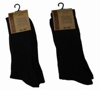 "Noorse sokken  "" Donker grijs ""  2 paar"