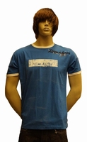 "T-shirt met kort mouwen "" Donadoni ""  North west Blauw / wit"