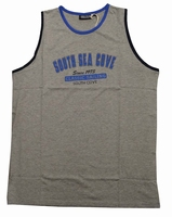 "Singlet  "" GCM ""  South sea gove    Licht grijs"