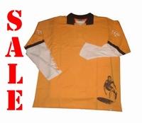 """Sweater met lange mouwen """" GCM """"  Oranje / wit"""