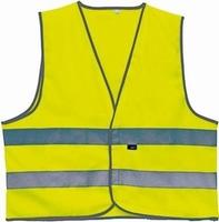 "Veiligheid vestje   "" Leverbaar in geel en oranje ""   1 maat"