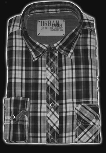 Heren blouse Maat 7XL